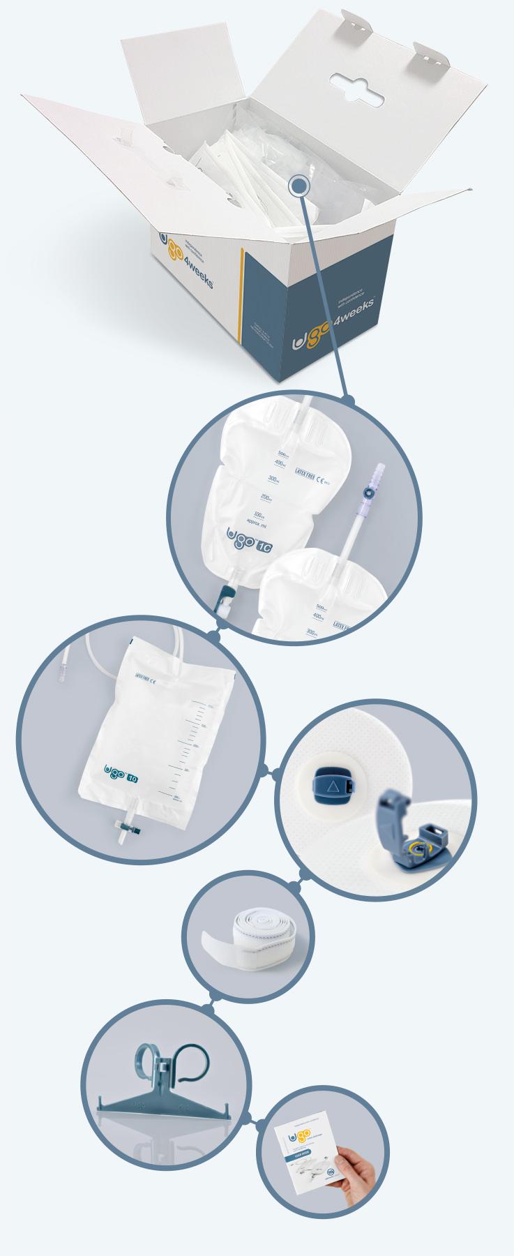 Ugo 4 Weeks urinary drainage system